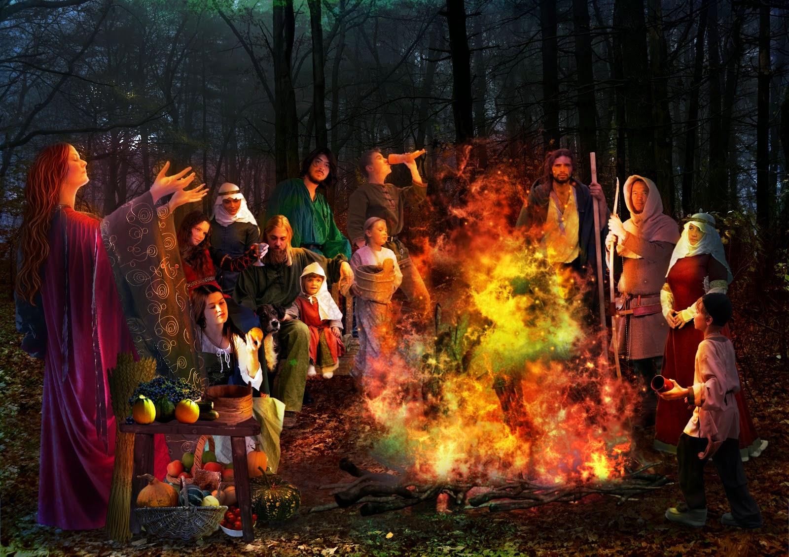 Когда встречают новый год язычники